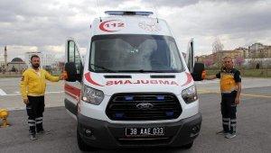 Ambulans şoförü baba- oğul