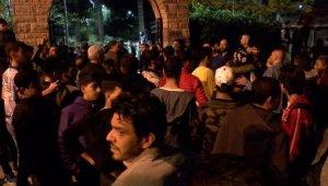 Beyoğlu'nda taciz iddiası... Mahalleli sokağa döküldü
