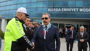 Bursa İl Emniyet Müdürü Osman Ak veda etti - Bursa Haberleri