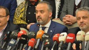 Bursa'da seçimin kazananı Alinur Aktaş : Eğlenceyle kaybedecek vaktimiz yok - Bursa Haberleri