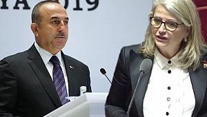 Çavuşoğlu'nun tarihi konuşmasından sonra salonu terk eden isimden küstah sözler