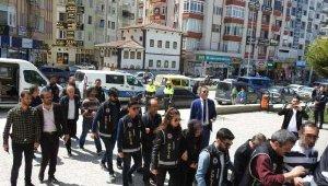 Çorum merkezli FETÖ operasyonunda 8 tutuklama