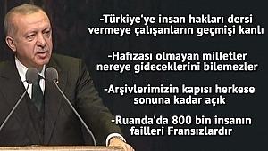 Cumhurbaşkanı Erdoğan meydan okudu,
