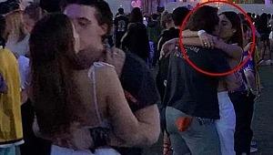 David Beckham'ın oğlu aşka geldi, Sevgilisini öpücüklere boğdu