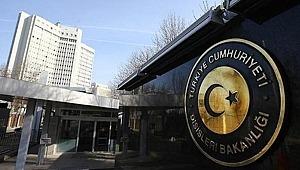 """Dışişleri Bakanlığı: """"Saldırılarda Türk vatandaşlarının zarar görüp görmediği araştırılıyor"""""""
