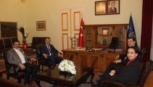 Doruk Sağlık Grubu'ndan Başkan Aktaş'a hayırlı olsun ziyareti - Bursa Haberleri