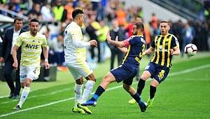 Fenerbahçe, Ankaragücü ile 1-1 berabere kaldı
