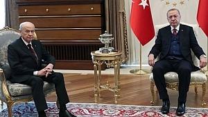 Gözlerin çevrildiği Erdoğan-Bahçeli görüşmesi sona erdi