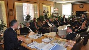 İTSO'dan Taban'a ziyaret - Bursa Haberleri