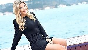 Ivana Sert, elbisesiyle törene damga vurdu