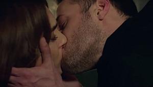 Kanal D'nin yeni dizisinde ateşli öpüşme sahnesi damga vurdu