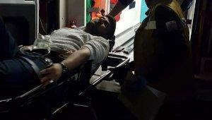 Kayseri'de tüfekle vurulan genç yaralandı
