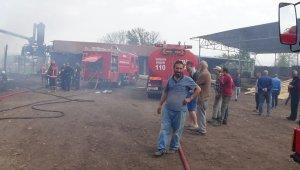 Kereste imalathanesi alevlere teslim oldu - Bursa Haberleri