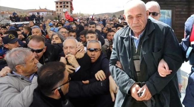 Kılıçdaroğlu'na saldıran şahsın ilk sözleri