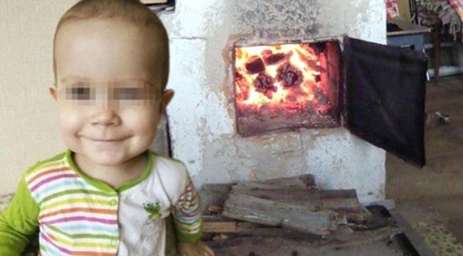 Korkunç olay... 2 yaşındaki torununu sobaya attı