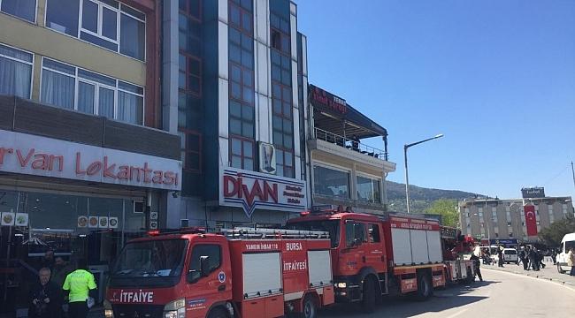 Lokantada yangın paniği - Bursa Haberleri