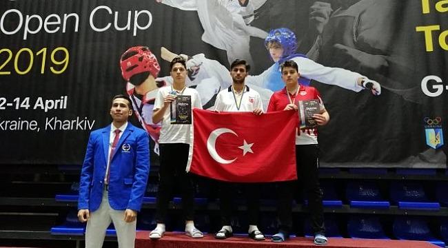 Melih Yılmaz, Ukrayna'da şampiyon oldu