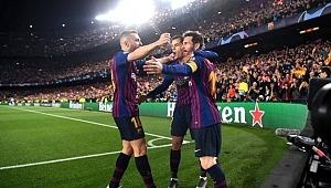 Messi böyle istedi... Barcelona yarı finalde