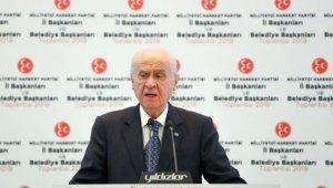 """MHP lideri Bahçeli: """"İstanbul'da seçim tekrarı beka meselesidir"""""""