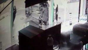 Ölümden kıl payı kurtuluş kamerada
