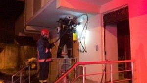 Ordu'da binada elektrik panosu patladı, 9 kişi dumandan etkilendi