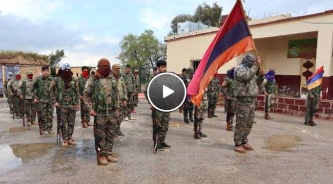 PKK, Suriye'de Türkiye'ye karşı Ermeni taburu kurdu