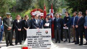 Şehit binbaşı kabri başında anıldı - Bursa Haberleri