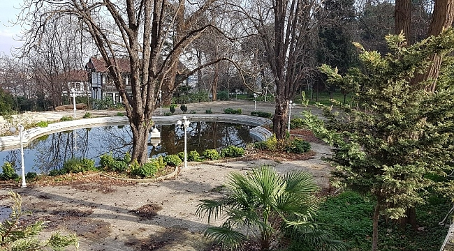 Tarihi kaplıcanın bahçesi ilgi bekliyor - Bursa Haberleri