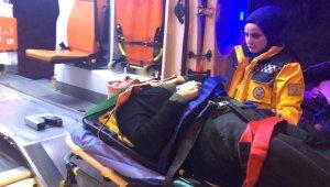 TEM'de 3 araç birbirine girdi: 1'i çocuk 4 yaralı