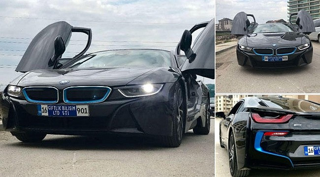 'Tosun' lüks BMW'yi kaptırmış…