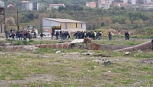 Tuğla fabrikasında kahreden ölüm