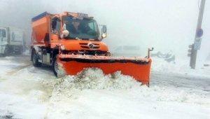 Uludağ'da bahar karı - Bursa Haberleri