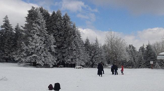Uludağ'da kar kalınlığı 39 santimetreye ulaştı - Bursa Haberleri