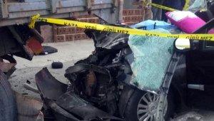 Vatan görevi yolunda kaza yaptılar: 2 ölü