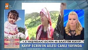 13 gündür haber alınamayan minik Ecrin'de anne detayı