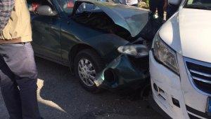 17 yaşındaki çocuk kaza yaptı