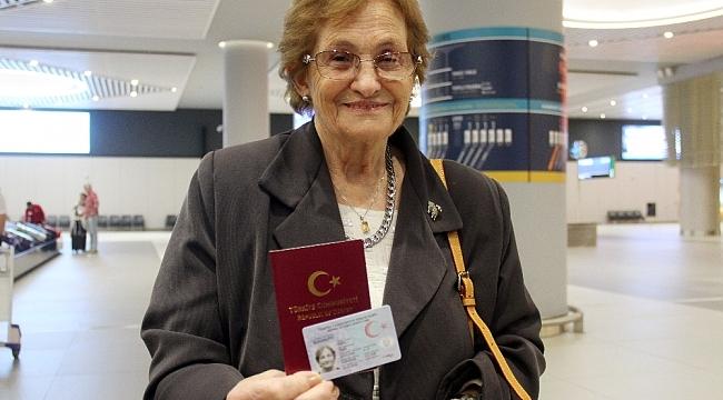 """69 yıl sonra yeniden Türkiye'de, """"Sanki rüya görüyorum"""""""