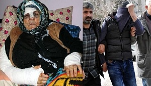 80 yaşındaki kadını sopayla dövdü, parmaklarını kırdı