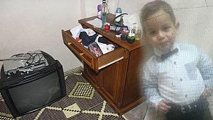 Acı olay... Üzerine televizyon düşen 2 yaşındaki çocuk hayatını kaybetti