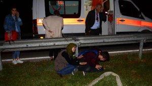 Adana'da yolcu otobüsü devrildi: 2 ölü, 23 yaralı