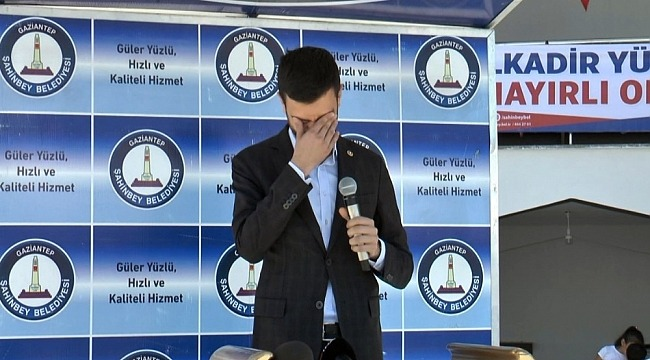 AK Parti Milletvekilini hüngür hüngür ağlatan açılış