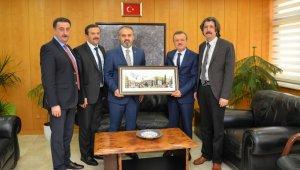 Aktaş'tan yeni Rektör Kılavuz'a hayırlı olsun ziyareti - Bursa Haberleri