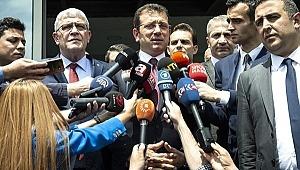 Bağımsız aday, İmamoğlu adına yarıştan çekildiğini açıkladı
