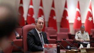 """Bakan Akar: """"Ülkemizin birliği için mücadele içindeyiz"""""""