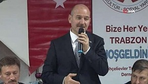 """Bakan Soylu, """"31 Mart seçimlerinde esas mağdur olan Binali Beydir"""""""