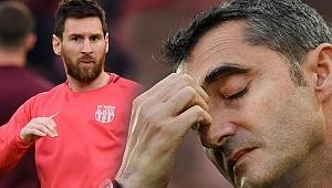 Barcelona'da ayrılık konuşulmaya başlandı