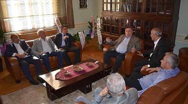Başkan Aydın futbol camiasını ağırladı - Bursa Haberleri