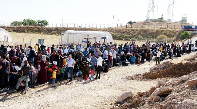 Bayramlaşmaya giden Suriyeli sayısı 11 bin 500 oldu
