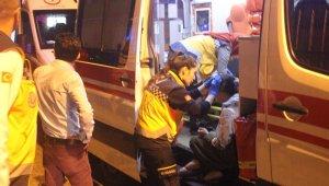 Binanın tabanı çöktü: 1'i çocuk 5 kişi yaralandı