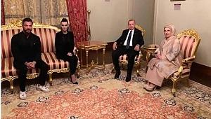 Boşanacakları konuşulan çift, Erdoğan'ın davetinde mutluluk pozu verdi